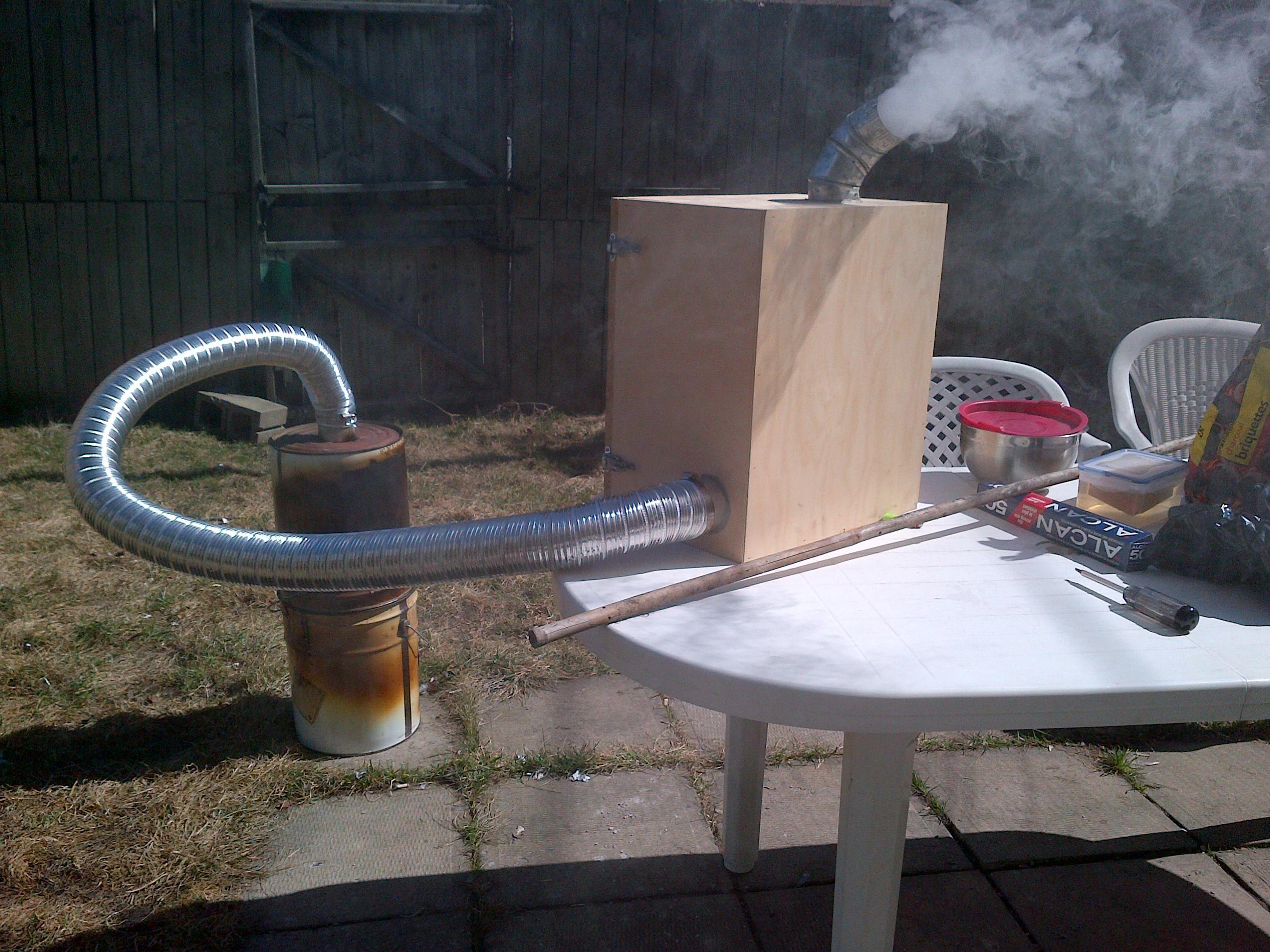 Comment faire de la fumée froide ?