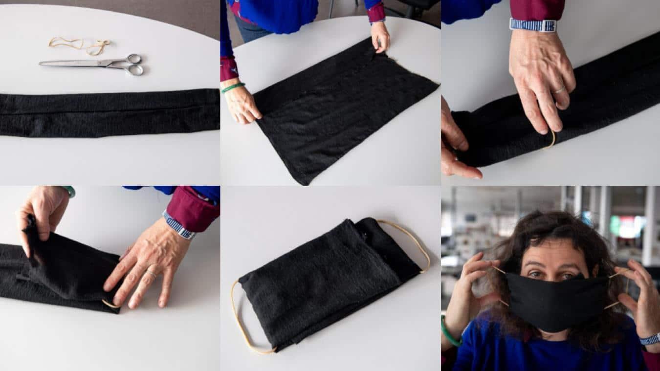Comment faire un masque en tissu facile ?