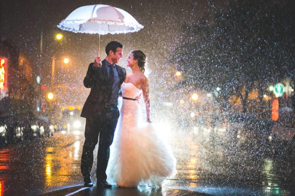 Un mariage sous la pluie : quelques conseils pour la réussir