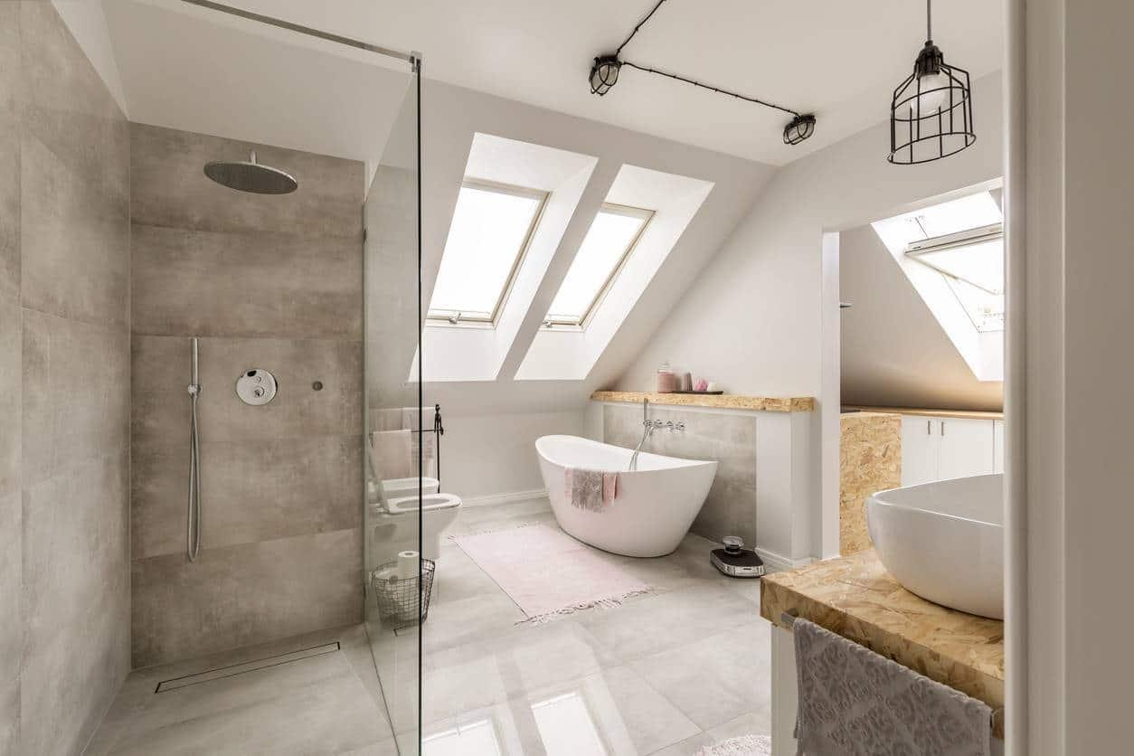 stickers carrelage, rénovation salle de bain