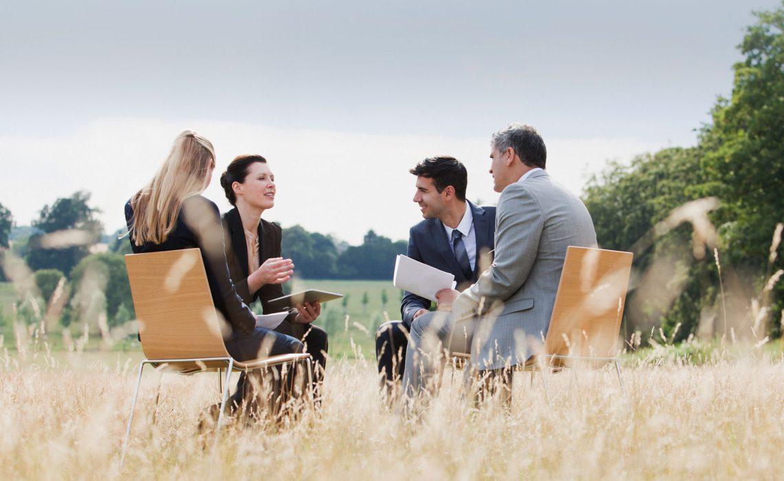 Construire un séminaire d'entreprise sur mesure
